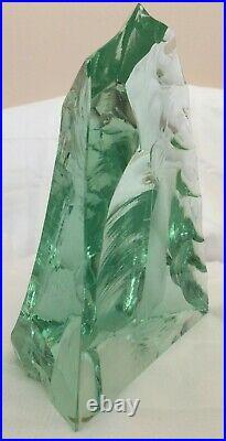 Vicke Lindstrand for Kosta Boda Art Glass Sculpture