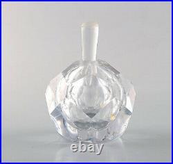 Vicke Lindstrand for Kosta Boda and Edward Hald for Orrefors. Perfume bottles