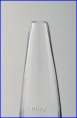 Vicke Lindstrand for Kosta Boda art glass vase