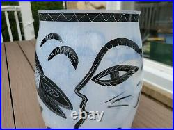 Vintage 13 Kosta Boda Garden of Eden Caramba Ulrica Hydman Vlaien Artist Snakes