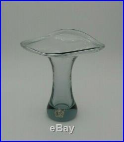 Vintage 1950s Vicke Lindstrand, Kosta Boda, Sweden Art Glass Vase LH 1029