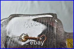 Vintage BERTIL VALLIEN Kosta Boda Art Glass Phallic Dreams 8BVAUN 009196 Unique