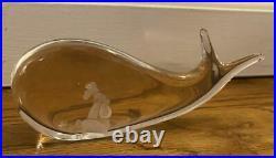 Vintage Jonah in the Whale Kosta Boda 98029 Vicke Lindstrand 6