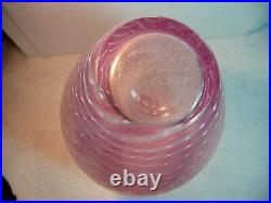Vintage Kosta Boda Opalescent Vase Bertil Vallien