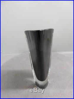 Vintage Mid Century Modern Kosta Boda Vase Signed by Govan Warff