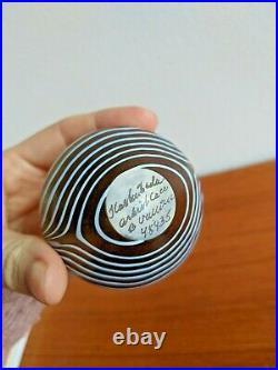 Vintage Signed Set Miniature Kosta Boda Vases incl Bertil Vallien Stickers 5 pcs