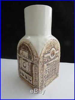Vintage Troika Spice Jar Chimney Vase Signed