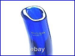 Vtg 2000-2001 Moonlanding Kosta Boda Monica Backstrom Art Glass Vases Rare